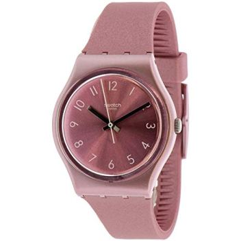 Swatch Women's So Pink GP161 Silicone Quartz Fashion Watch