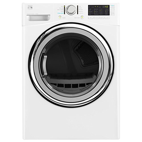 Kenmore 81382 7.4 cu. ft. Electric Dryer with Steam in White, includes delivery and hookup