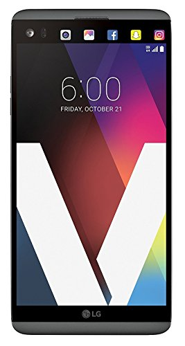 LG V20 64GB 5.7' IPS LCD Display Android Smartphone w/Dual Rear Cameras (16MP+8MP) - Unlocked for All GSM Carriers Worldwide (Titan Gray)