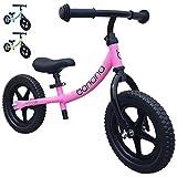 Banana Bike LT - Lightweight Balance Bike for Kids - 2, 3, 4 Year Olds (Pink 2019)