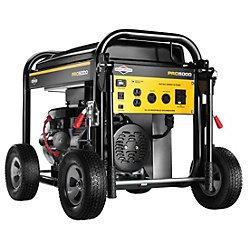 Briggs & Stratton 30554, 5000 Running Watts/6250 Starting Watts, Gas Powered Portable Generator