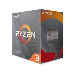 AMD Ryzen 3 3100 4-Core, 8-Thread Unlocked Desktop Processor with Wraith Stealth Cooler