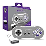 Hyperkin 'Scout' Premium BT Controller for SNES/ PC/ Mac/ Android (Includes Wireless Adapter) - Super NES