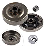 shanze 325' 7T Sprocket Clutch Drum Bearing Washer E-Clip for STIHL MS261 MS271 MS291 Chainsaw