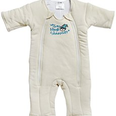 Baby Merlin's Magic Sleepsuit Cotton – Cream – 3-6 months