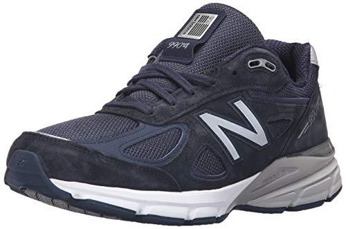 New Balance Men's 990v4, Navy, 10.5 M US