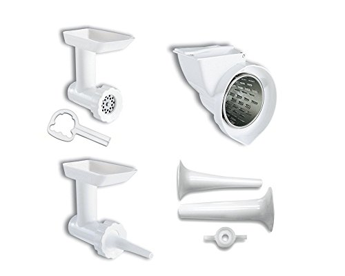 KitchenAid 80127 KGSSA Stand Mixer Attachment with Food Grinder, Rotor...