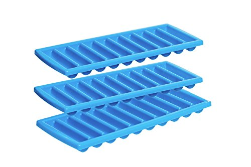 Prepworks by Progressive Icy Bottle Stick Trays - Set of 3, Ice Cube Tray, Cylinder Ice Cubes