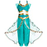 Joy Join Princess Jasmine Costume Outfit for Toddle Girls 2t 3t