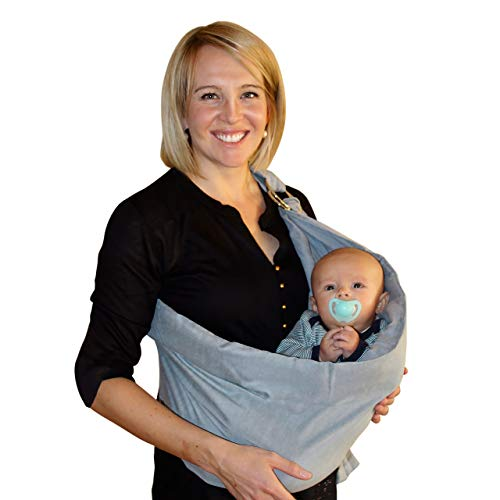 Baby Wrap Carrier Ring Sling: Extra Comfortable Slings and Wraps for Easy Wearing and Carrying of Babies, Newborn, Infant and Toddler. Carriers Ideal for Baby Registry, Breastfeeding and Nursing