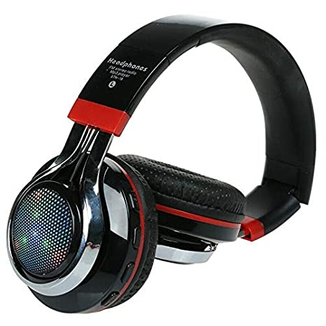 ELECTROPRIME Glowing Stereo Casque Audio Bluetooth Headphone Wireless Big Headset Sport T9T9