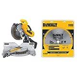 DEWALT 12-Inch Compound Miter Saw Double-Bevel, 15-Amp (DW716)