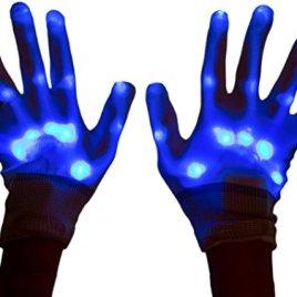 Neon Nightlife Light Up Gloves for Kids, LED
