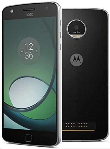 Motorola Moto Z Play XT1635-02 32GB Black, Dual Sim, 5.5-Inch, GSM Unlocked International Model, No Warranty