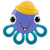 Nuby Vibe-eezTM Vibrating Teether - OCTOPUS