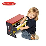 Melissa & Doug Learn-to-Play Piano, Musical Instruments, Solid Wood Construction, 25 Keys and 2 Full Octaves, 11.5' H x 9.5' W x 16' L