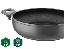 Saflon-Titanium-Nonstick-Saute-Pot-with-Tempered-Glass-Lid-4mm-Forged-Aluminum-with-PFOA-Free-Coating-from-England