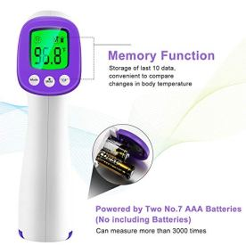 Infrared-Forehead-Thermometer-Non-Contact-Forehead-Thermometer-for-Adults-Kids-Baby-Accurate-Instant-Readings-No-Touch-Infrared-Thermometer-with-3-in-1-Digital-LCD-Display-for-Face-Ear-Body