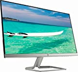 HP Newest 27' Widescreen IPS LED Full HD (1920x1080) Monitor, 5ms Response Time, 10,000,000:1 Contrast Ratio, FreeSync, 2X HDMI and 1x VGA Input, 178° View Angle, 75Hz Refresh Rate, Natural Silver