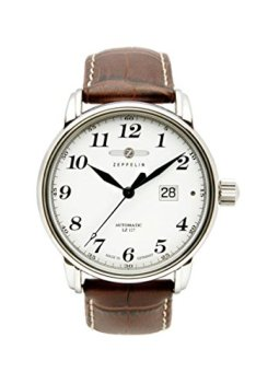 Chronometer glashuette Observatory Mens Analog Automatic Watch with Leather Bracelet 7650-1