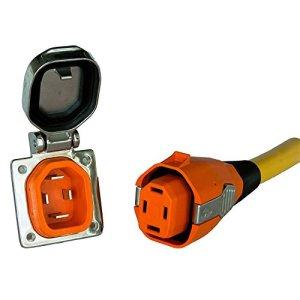 Smartplug 50 Amp Boatside Inlet & Connector