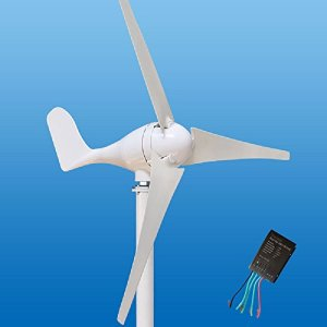 Wind Turbine Generator Kit 100-400Watt DC12/24V of 3 Blades homes, businesses, and industrial energy supplementation