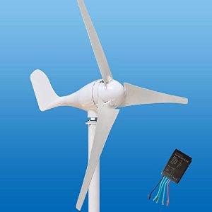 Wind Turbine Generator Kit 100-400Watt DC12/24V of 3 Blades homes, businesses, and industrial energy supplementation