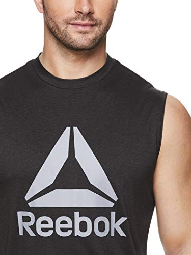 Reebok Men's Muscle Tank Top - Sleeveless Workout & Training Activewear Gym Shirt 4 Fashion Online Shop gifts for her gifts for him womens full figure