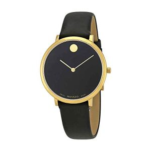 Movado Museum 70th Anniversary Black Dial Mens Watch 0607137