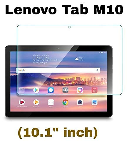 "M.G.R.J® Tempered Glass Screen Protector for Lenovo Tab M10 Tablet (10.1"" inch) 147"