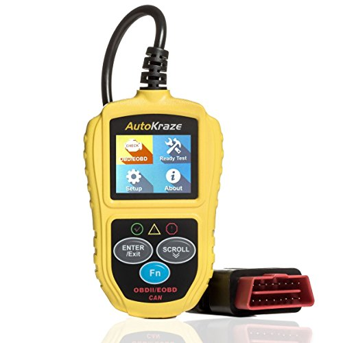 OBD2 Scanner - Car Engine Fault Code Reader | NEW 2019 design - Newest Version - CAN Diagnostic Scanner - Clears Trouble Codes to Save You Money | Vehicles of any Brand | Reliable Durable Easy to Use