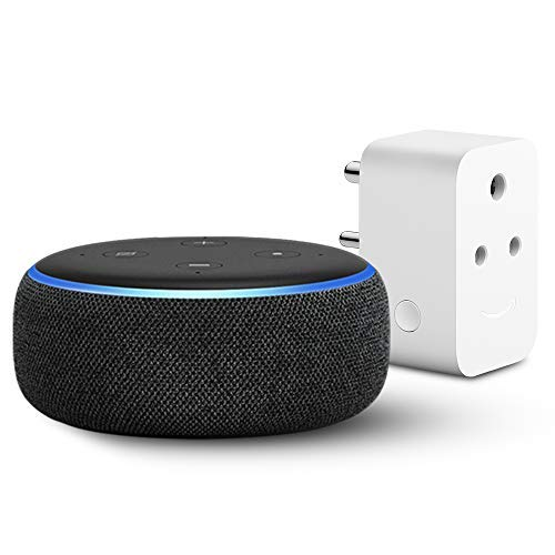 Echo Dot (3rd Gen, Black) with Amazon 6A Smart Plug - Easy Set-Up: Amazon.in:  Kindle Store
