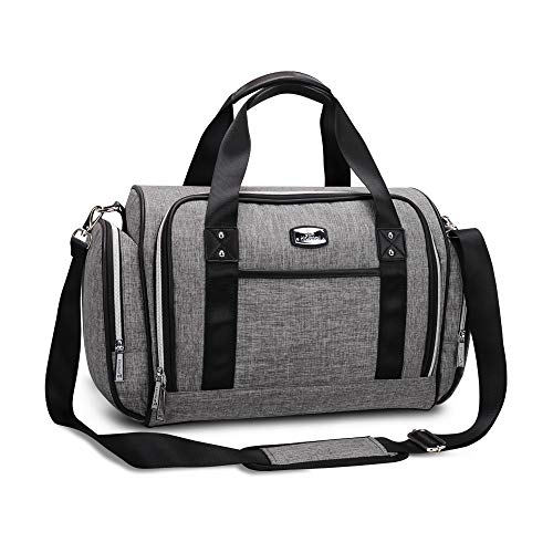 Diaper Bag Tote - Hafmall Multi-function Large Convertible Travel Baby Bag for Boys and Girls