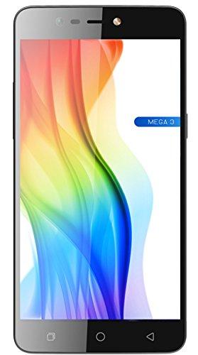Coolpad Mega 3 16GB Triple-SIM Factory Unlocked Android 4G/LTE Smartphone (Moondust Grey) - International Version