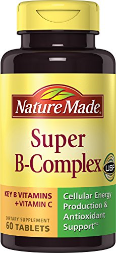 Nature Made Super B Complex Tablets, 60 Count (Pack of 2)