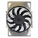 All Balls Cooling Fan Assembly for Yamaha RHINO 660 4x4 2004-2007