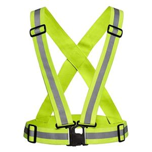 Reflective Vest Safety Jacket for Night Riding