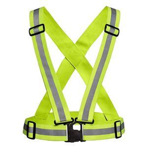 Reflective Vest Safety Jacket for Night Riding