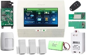Honeywell Wireless Lynx Touch L7000 Home Automation/Security Alarm Kit with WiFi, Zwave & LTE-L57V Verizon LTE Communicator