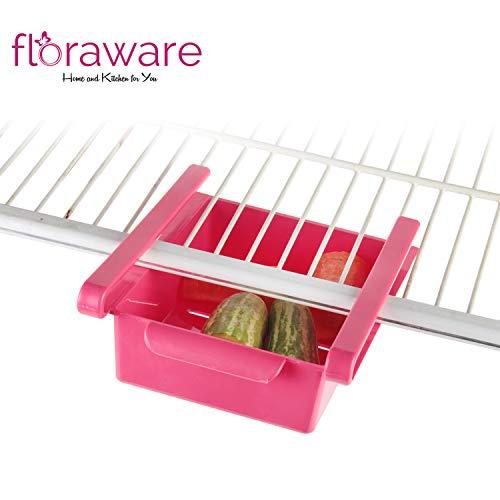 41TVuVnl70L Floraware Refrigerator Storage Rack, Set of 2
