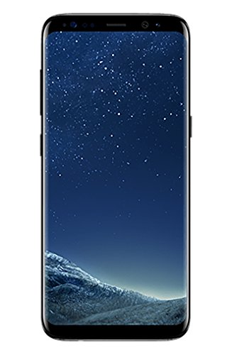 Samsung Galaxy S8 (G950u GSM only) 5.8' 64GB, Unlocked Smartphone for all GSM Carriers - Midnight Black (Certified Refurbished)