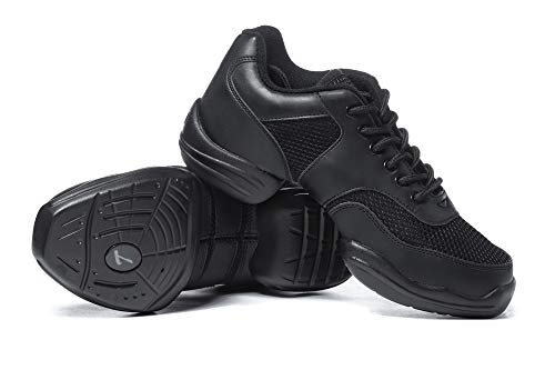 Adult Split-Sole Sneaker T8000BLK04.0 Black 4 M US