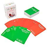 SCS Direct the World Hates the Holidays (80 Red Cards, 30 Green Cards) - the Adult Card Game For Xmas, Hanukkah, Thanksgiving, Kwanza