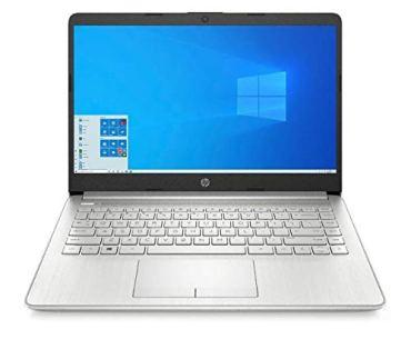 HP 14 10th Gen Core i3 14″ (35.56cms) Laptop with 4G (LTE), 8GB RAM, 1TB HDD, 14″ (35.56cms) FHD Screen, Windows 10, MS Office(14s-er0004TU)