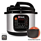 Geek Robocook Automatic Electric Pressure Cooker with 11 in 1 Function, Feather Touch Preset Menu (5L)