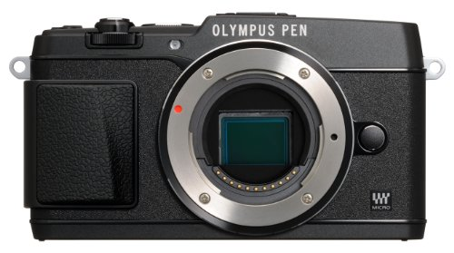 Olympus E-P5 16.1MP Mirrorless Digital Camera with 3-Inch LCD- Body Only (Black)