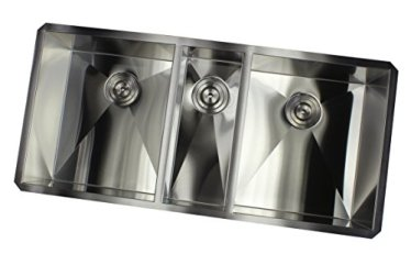 Contemporary-Durable-42-inch-Zero-Radius-Design-16-Gauge-Stainless-Steel-Undermount-Triple-Bowl-Kitchen-Sink-with-Lift-out-Basket-Strainer