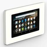 VidaMount On-Wall Tablet Mount - Amazon Fire HD8 7th Gen - White (2017-18)