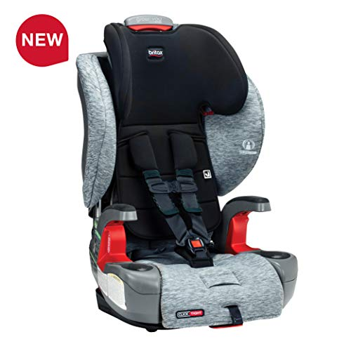 Britax USA Grow with You ClickTight Harness-2-Booster Car Seat - 2 Layer Impact Protection - 25 to 120 Pounds, Spark [Newer Version of Frontier]