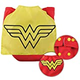 Bumkins Cloth Diaper Snap All-In-One (AIO) or Pocket with Cape, 7-28lbs, DC Comics Wonder Woman